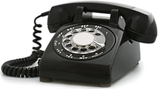 Telephone transparent landline. Call or email for