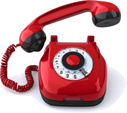 Telephone transparent red. Phone png image