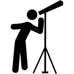 Telescope clipart. Icon web icons png
