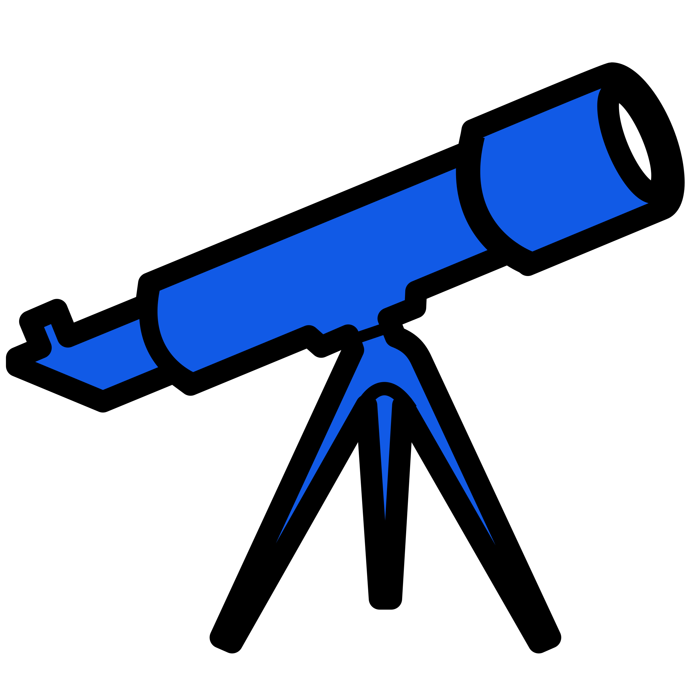 Telescope clipart icon. Blue icons png free