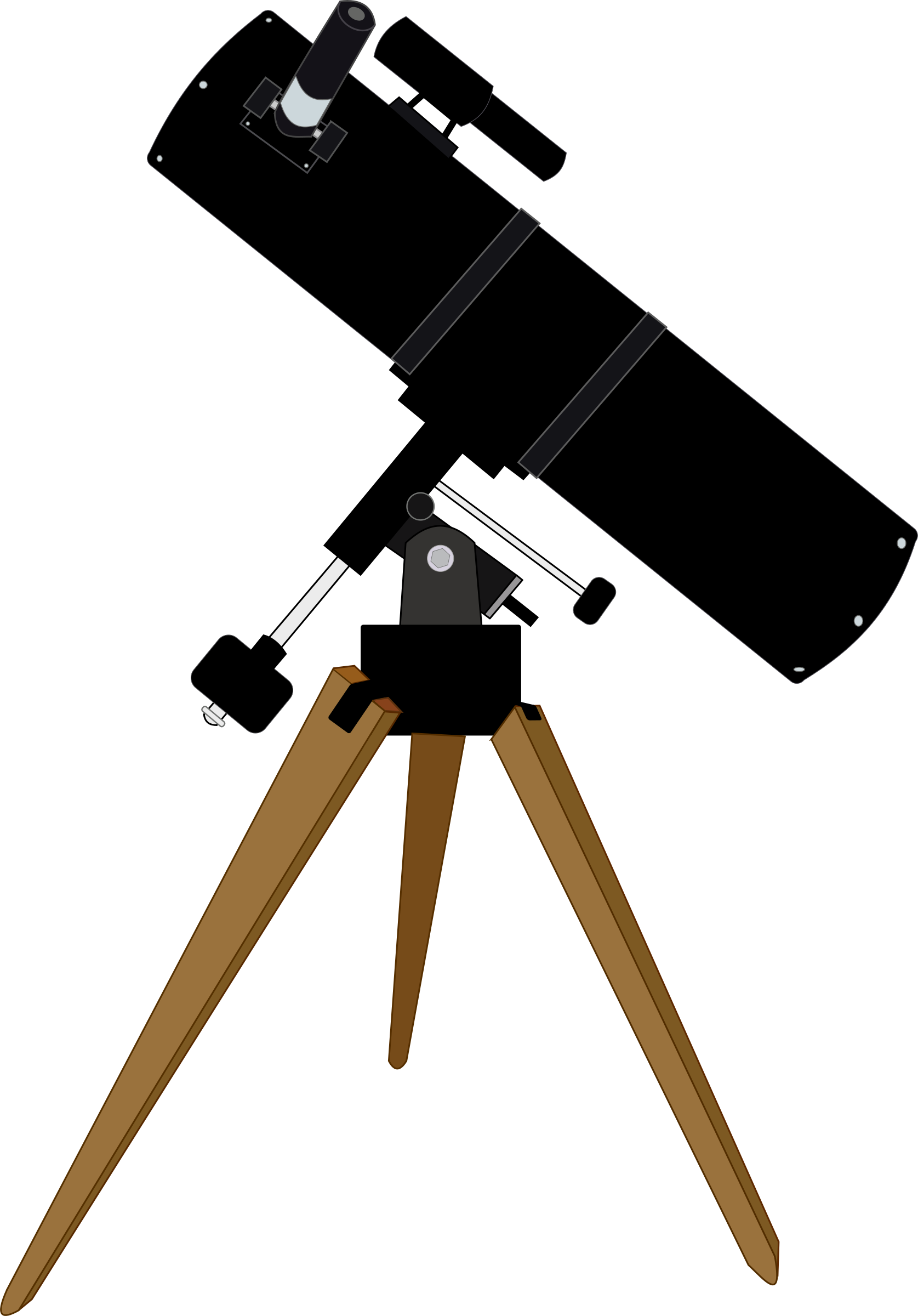 Telescope clipart outline. Png panda free images