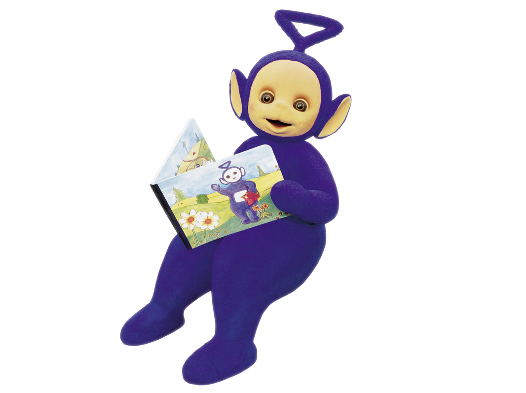 Teletubbies drawing name. Image bonne lecture png