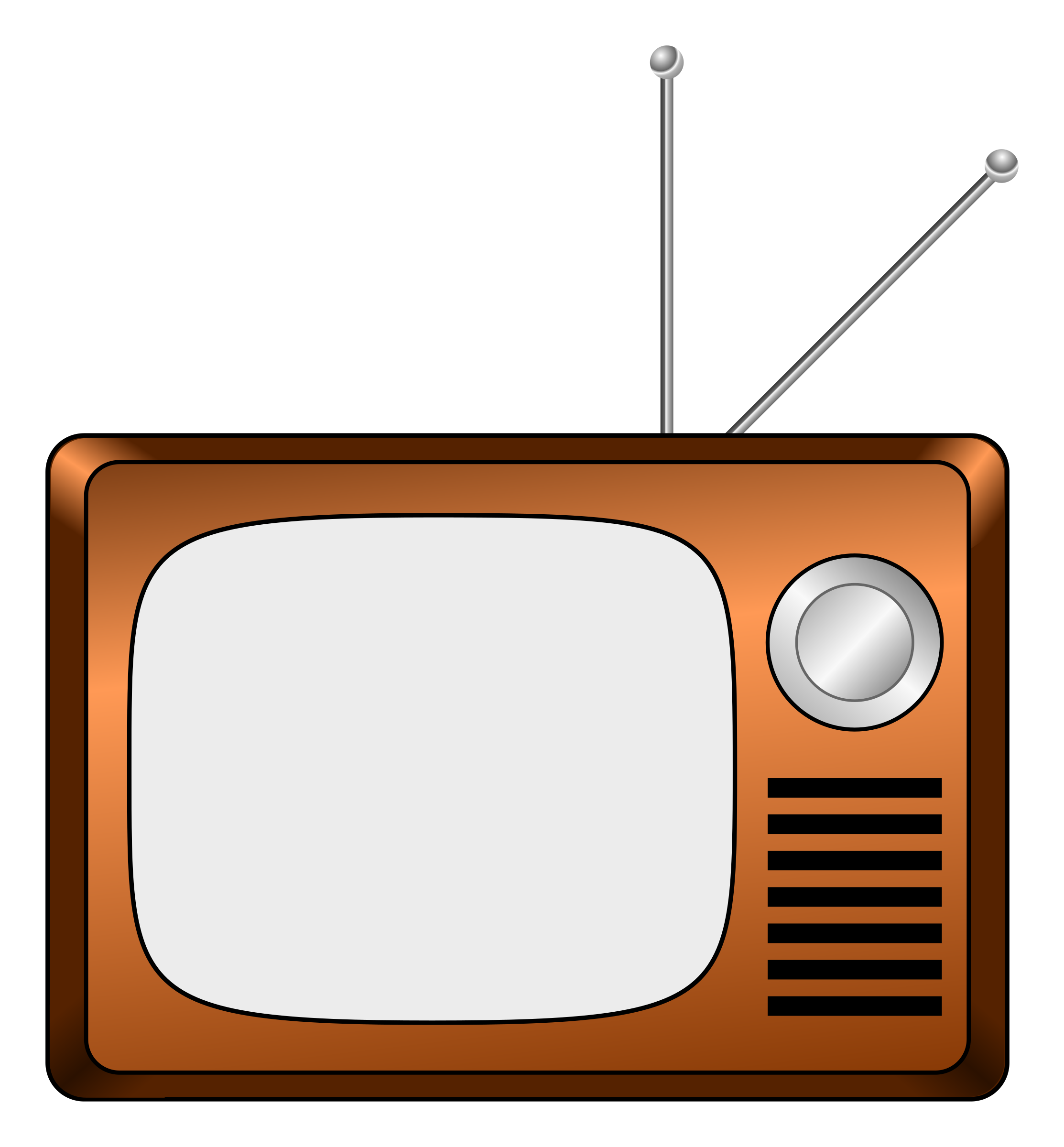 Television clip art png. Old image purepng free