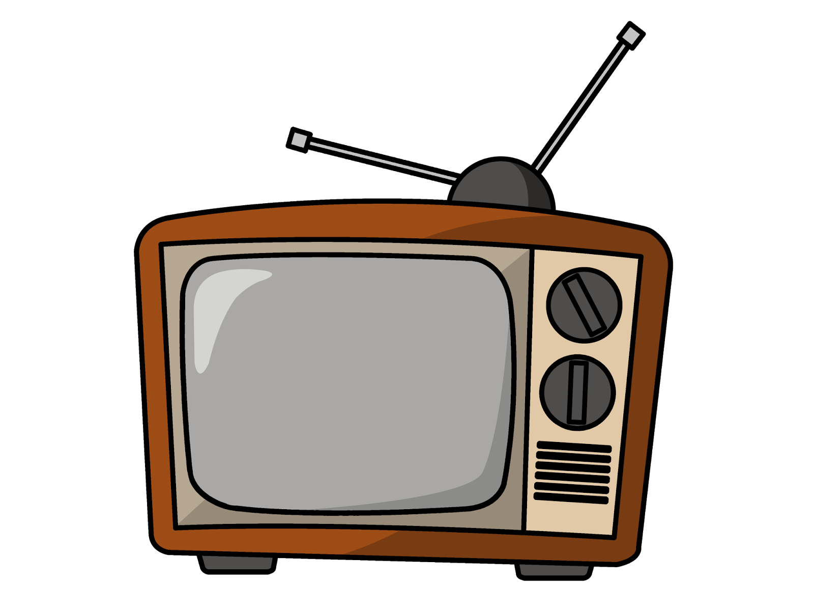 Television clip art png. Image tv my singing
