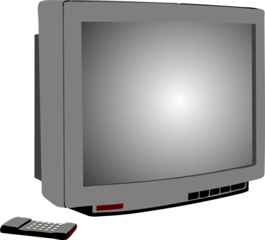 Drawing tv retro. Television set download quality