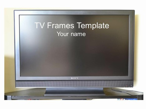 Television powerpoint background
