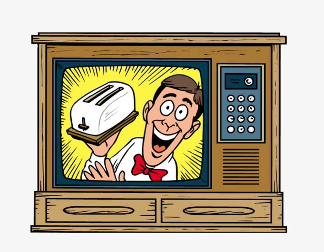 Television clipart tv program. Pictures cartoon vintage play