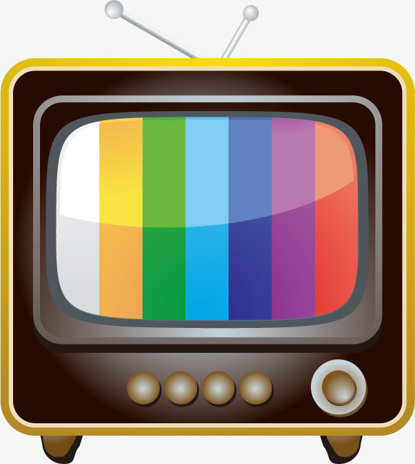 Television clipart tv program. Vector icons series set