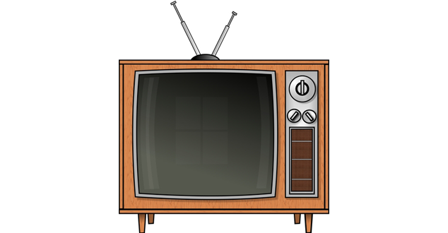 Television clipart tv station. Watching live broadcast with