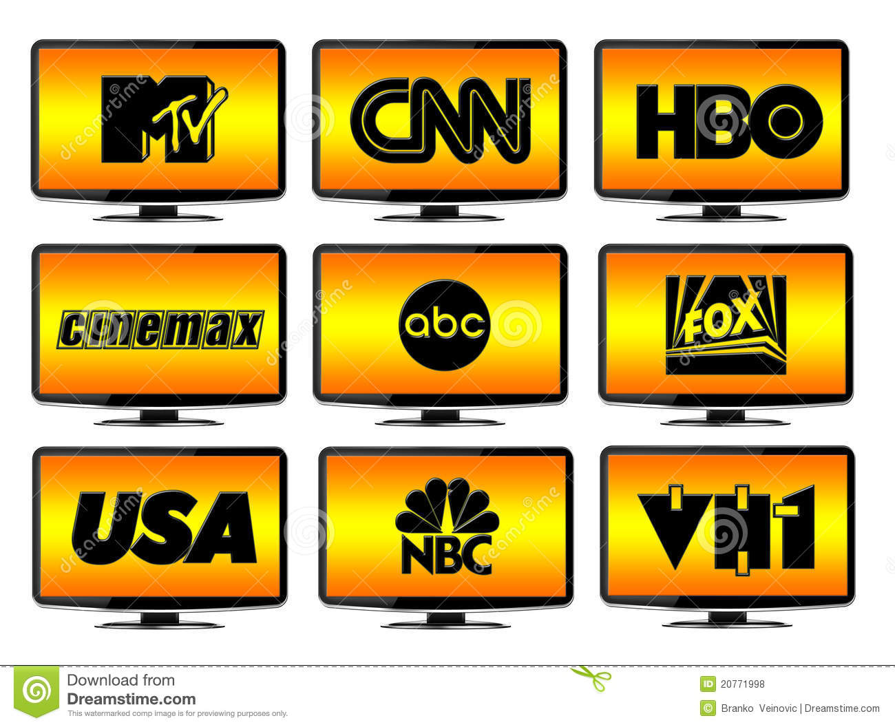 Tv clipart tv station. Television logo