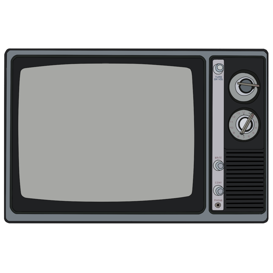 Old tv screen png. Good black and white