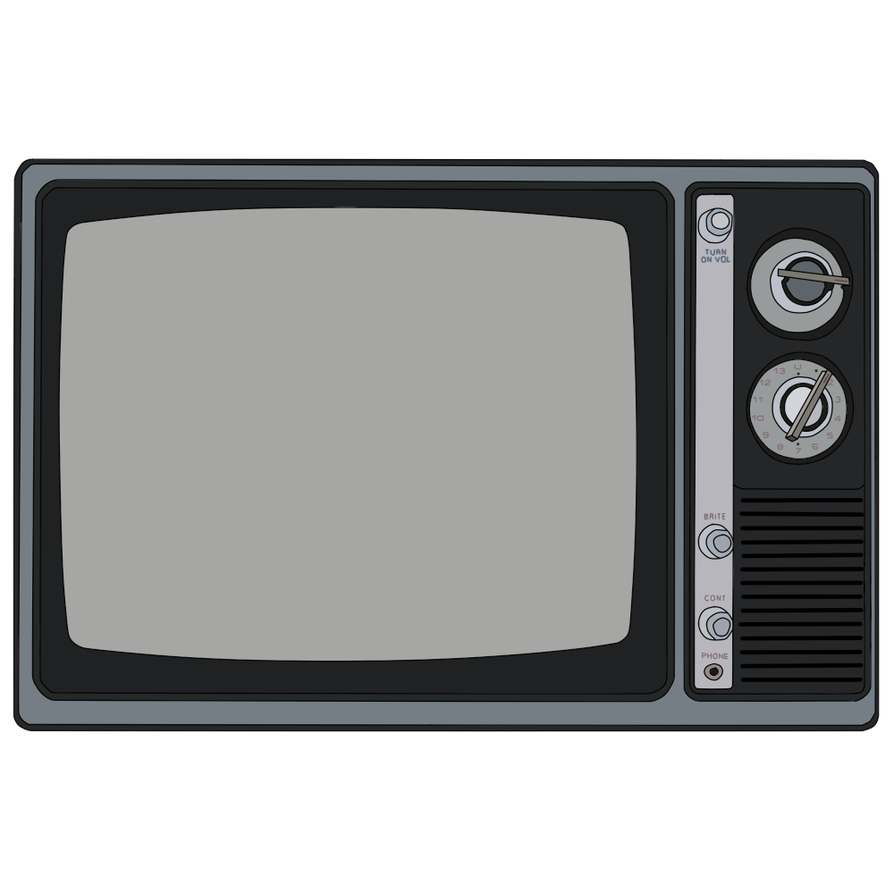 Dart drawing black and white. Good old tv by