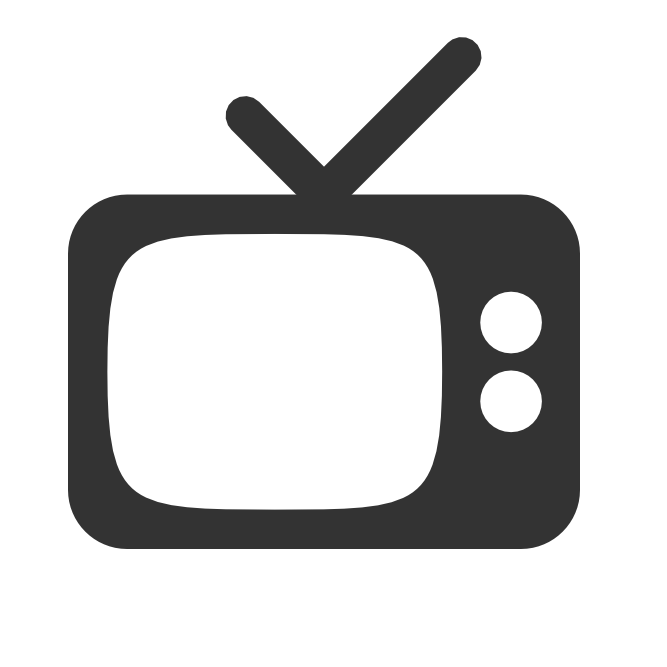 Television icon png. Vector free icons and