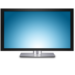 Vector television lcd. Icon free icons and
