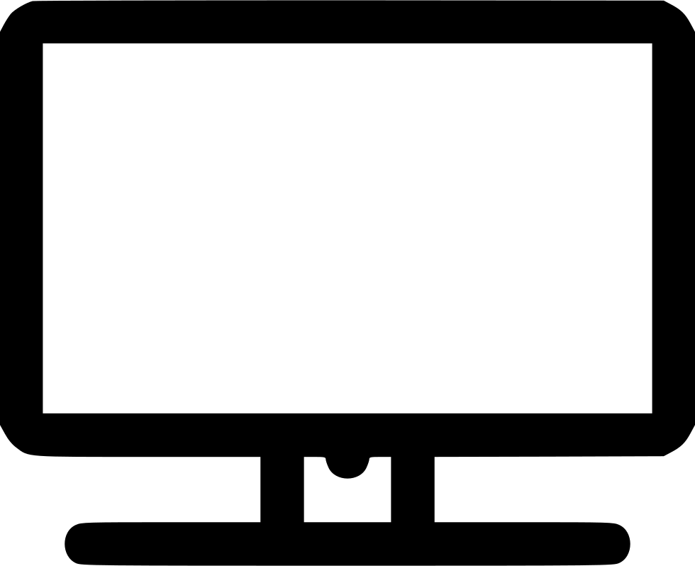 Television screen png. Svg icon free download