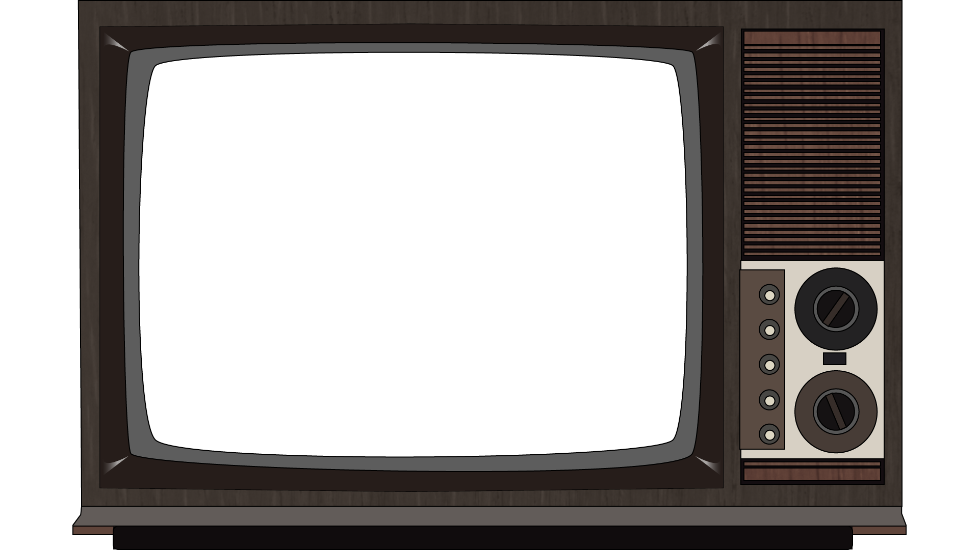 Television set png. Old image purepng free