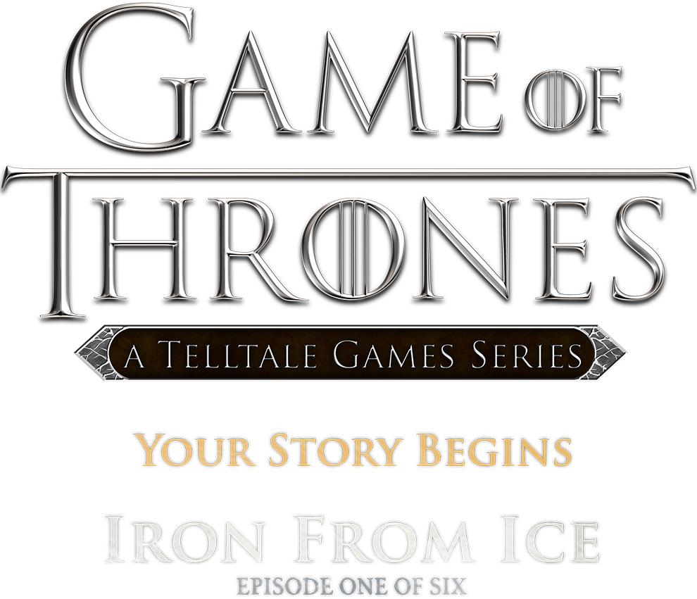 Telltale games logo png. Iron from ice game