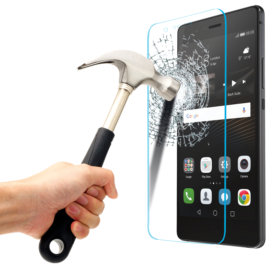 Tempered glass png. Energizer for huawei p
