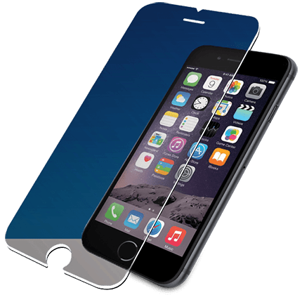 Tempered glass png. Panzerglass iphone plus and