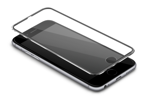 Cellphone transparent completely glass