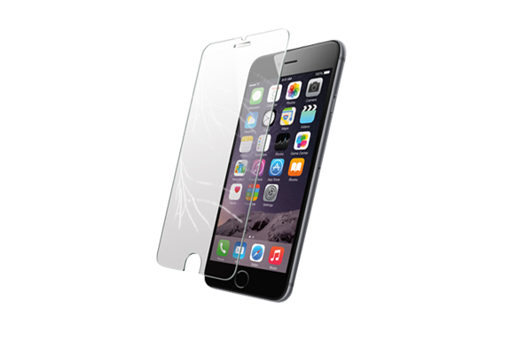 Tempered glass png. Iphone screen protector rokglass