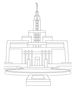 Temple clipart temple draper. Latter day pearls temples