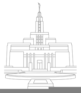 Temple clipart temple draper. Free images at clker