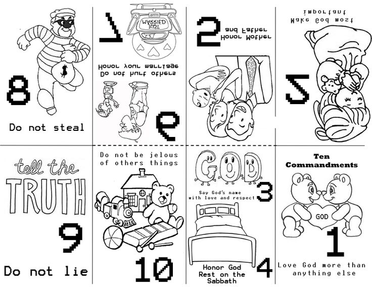 Ten commandments clipart kid coloring page. Pages for kids luxury