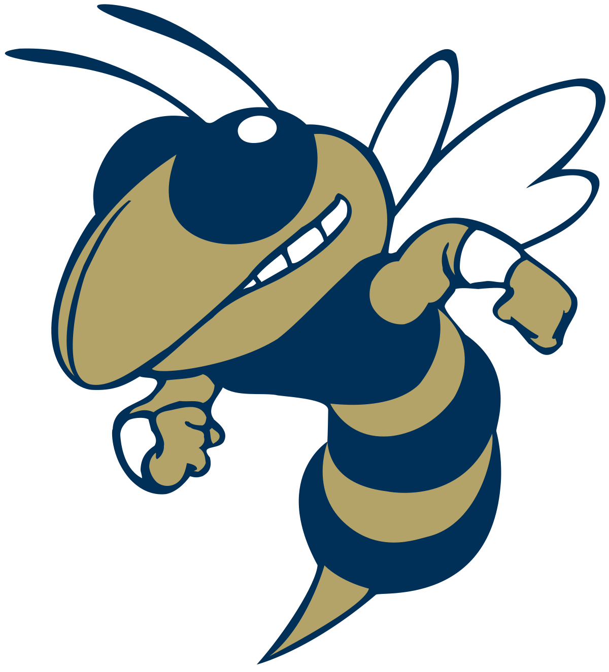 Wasp vector svg. Buzz mascot wikipedia