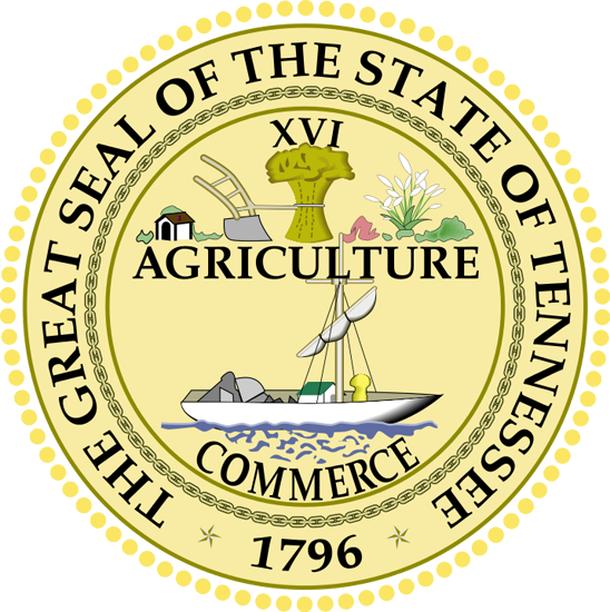 Tennessee drawing statehood. State information symbols capital