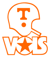 Tennessee drawing vols. Logo free design vector