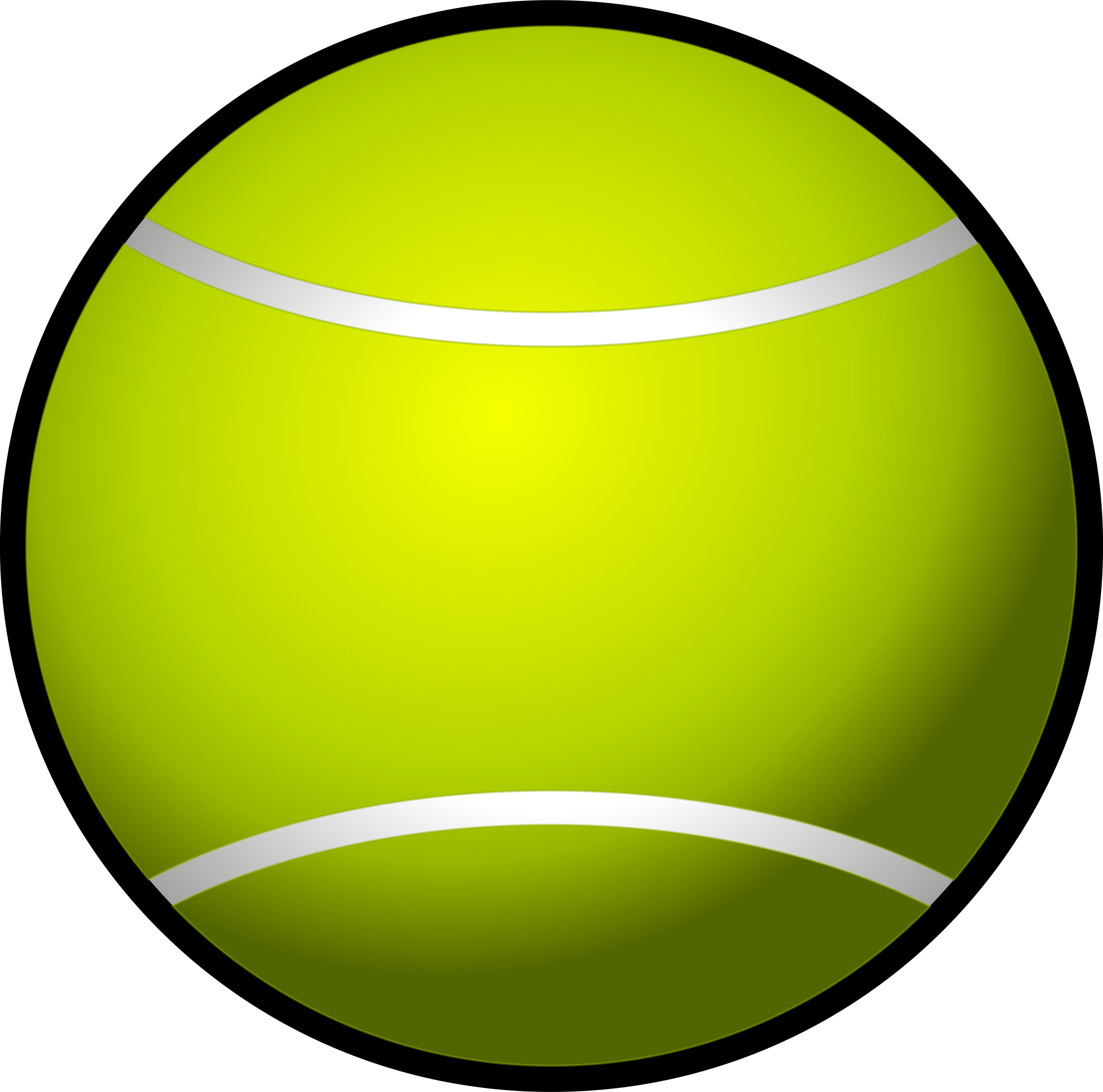 Tennis ball clipart png. Simple big image