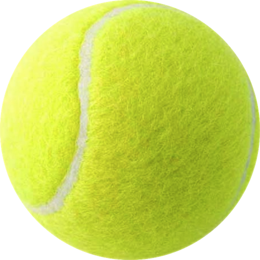 Tennis ball png. Simple free icons and