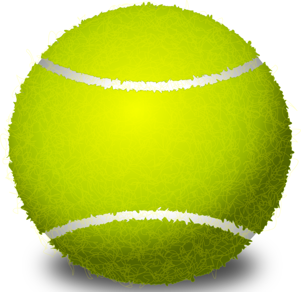 Tennis clipart animated. Ball clip art at