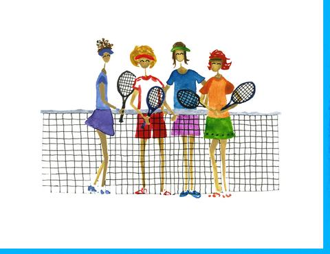 Happily ever annie . Tennis clipart doubles tennis png freeuse stock
