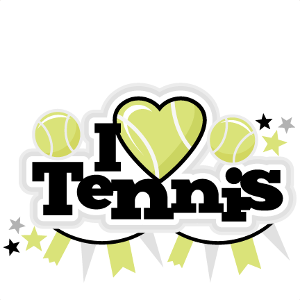 Tennis clipart family.