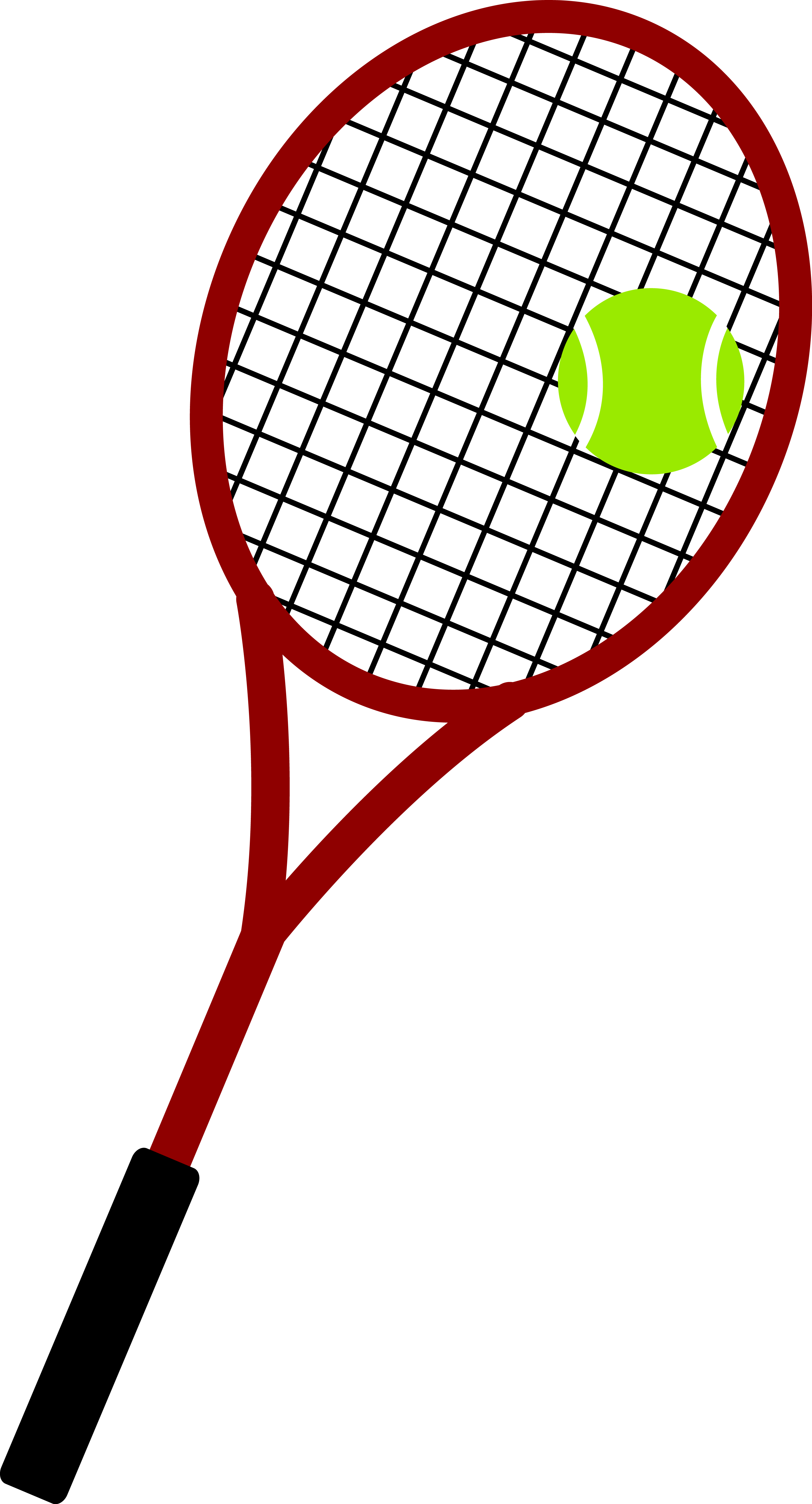 And ball free clip. Racket clipart lawn tennis clip free