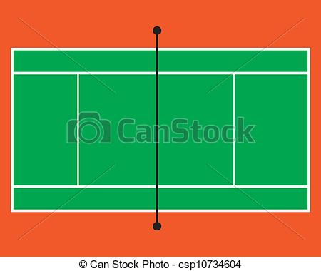 The abstract of tennis. Court clipart vector banner transparent download