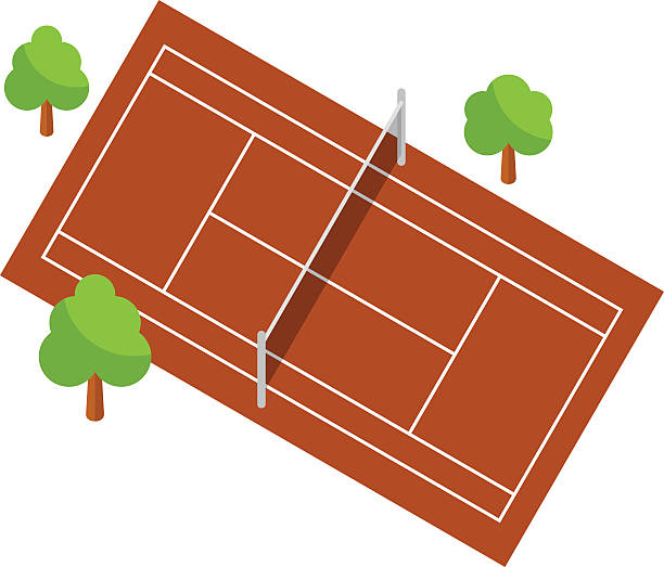 Tennis clipart tennis court. At getdrawings com free
