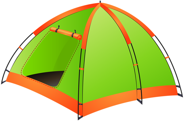 tent clipart hiking