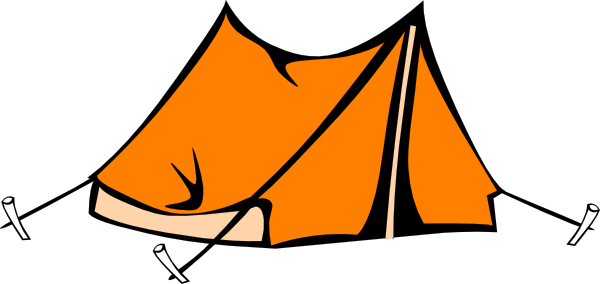 Cartoon clipart camping. Images gallery for free