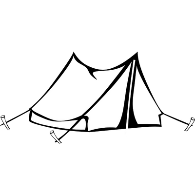 tent transparent connected