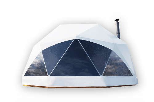 Tent transparent clear dome. Geodesic tents for sale