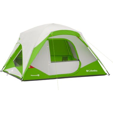 Tent transparent clear dome. Columbia pinewood person black