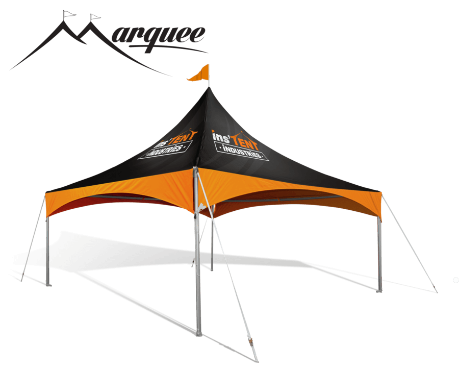 Tent transparent frame. Custom tents get your