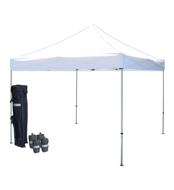 Tent transparent frame. Outdoor blank canopies canopy