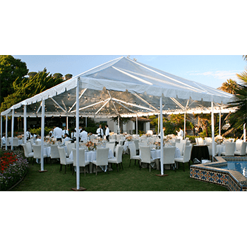 tent transparent frame
