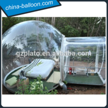 Tent transparent inflatable
