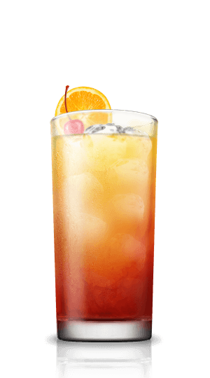 Tequila sunrise png. Cocktail flow