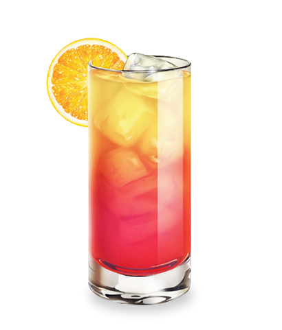 Tequila sunrise png. Cocktail